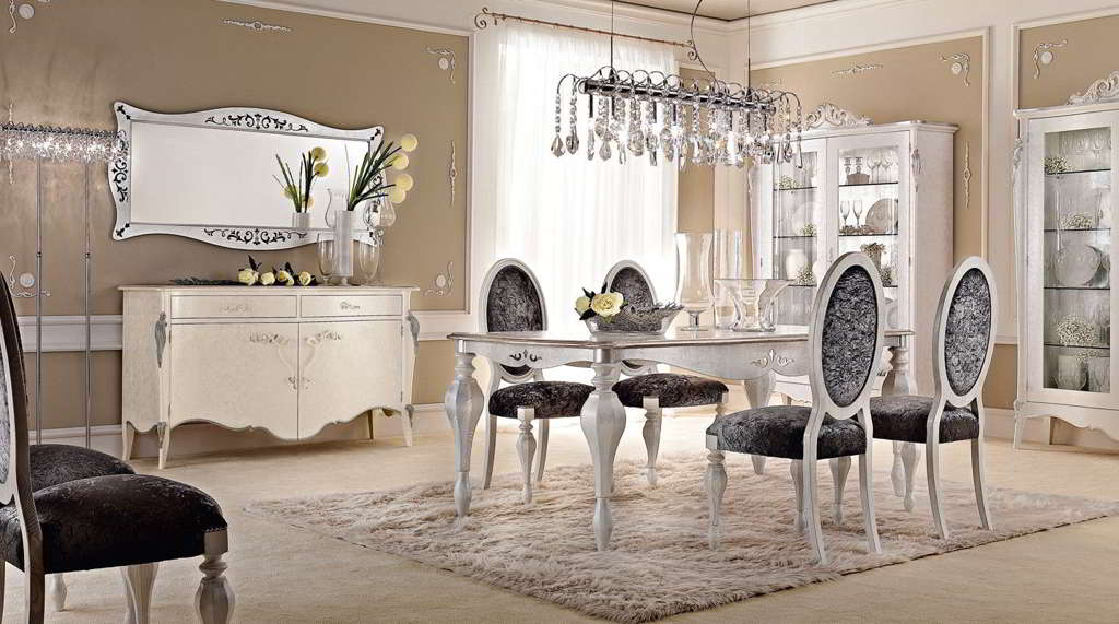 Soggiorni classici primobili for Casa stile classico moderno
