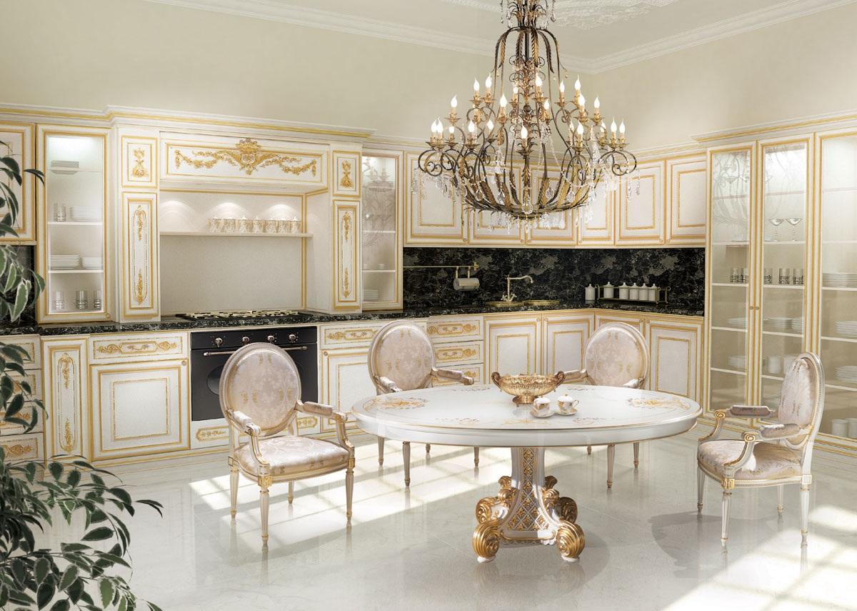 Tavolo stile barocco moderno gy81 pineglen for Siti di arredamenti